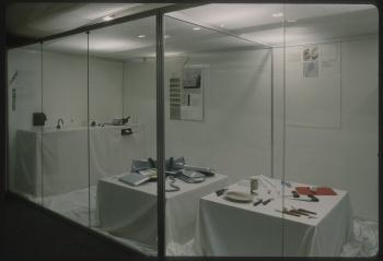 Des objets sans problème, salle de documentation du CCI (185): vue de salle. ©Bibliothèque Kandinsky MNAM-CCI Centre Pompidou